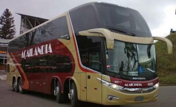 Ônibus Intermunicipal da empresa Açailândia é assaltado em Santa Rita.