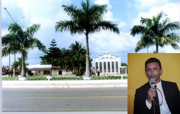 vereador do município de Governador Nunes Freire, Paulo Lopes Sales (PT)
