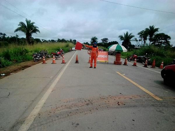 DNIT emite nota sobreErosão entre Dom Pedro e Presidente Dutra na BR 135do KM 331.