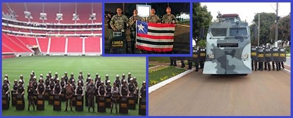 Curso de Operações de Choque do Departamento da Força Nacional.