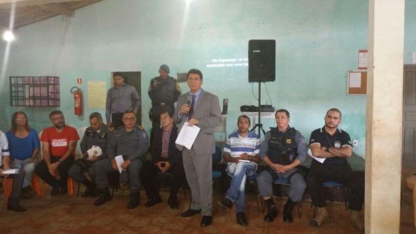 Comandante do CPAM/3 TC Harlan participa de audiência pública que tratou de infraestrutura viária.