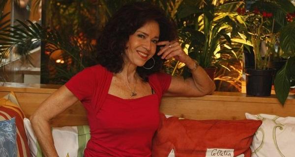 A atriz Yoná Magalhães.