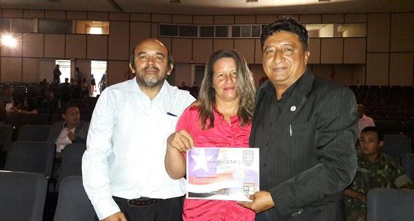 AMADEUZINHO DE CACHOEIRA GRANDE, VEREADORA LUCYANNI E O TENENTE CARLOS.