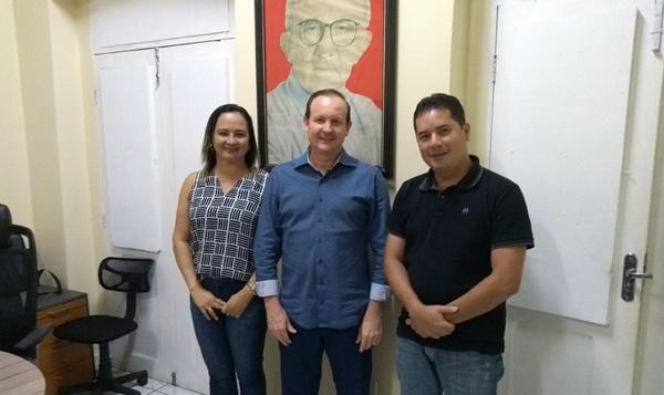 Pré-candidato a deputado estadual,Márcio Honaiser recebe apoio doVereador de Presidente Juscelino e Amanda de Morros.