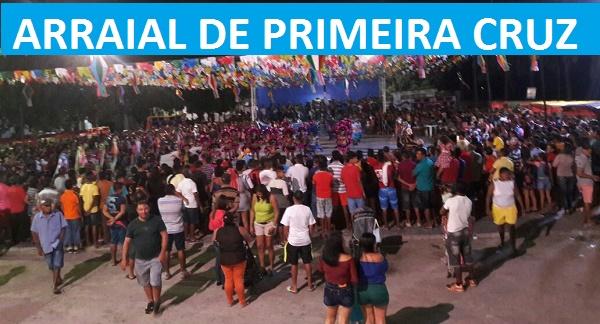 ARRAIAL DE PRIMEIRA CRUZ 2016.