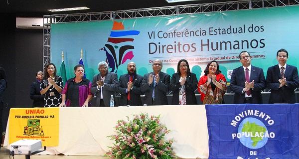 Abertura da VI Conferência Estadual dos Direitos Humanos discutiu a garantia de direitos.