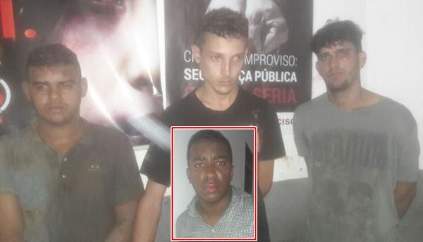 Policiais do 27° BPM de Rosário prendem assaltantes com arma e produtos de roubo.