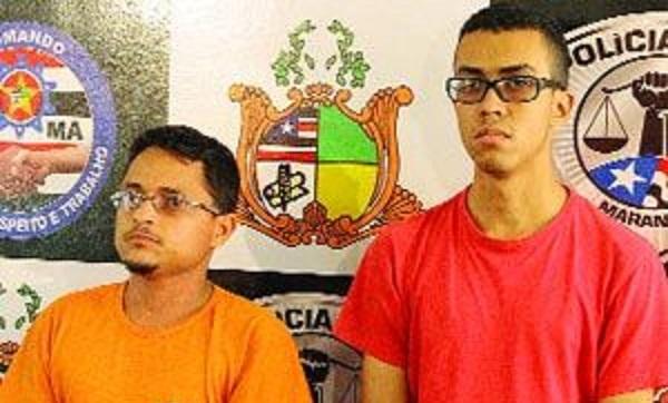 Ancleuton Holanda Dias, de 28 anos, e Anderson de Jesus Silva Miranda, de 20 anos.
