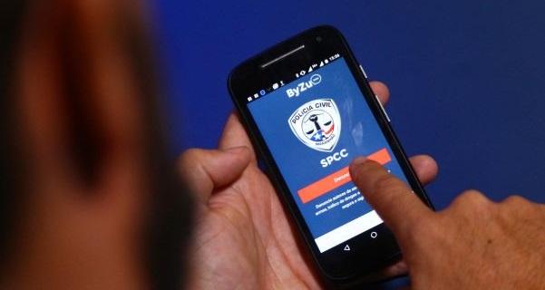 Aplicativo lançado pela Polícia Civil intensificará atuação policial por meio de denúncias anônimas.