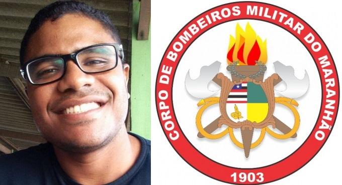 Arthur Gustavo Dourado da Silva, Soldado do Corpo de Bombeiros Militar do Maranhão.