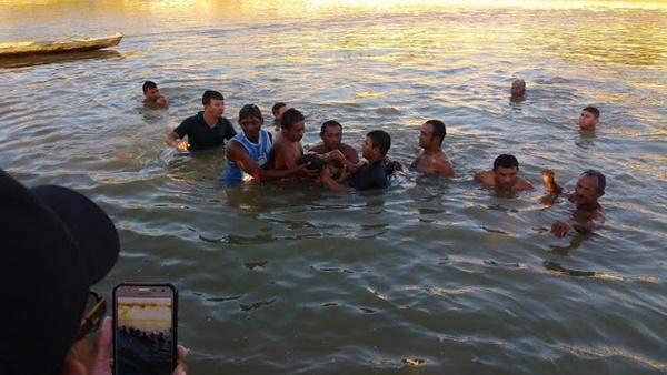 TRAGÉDIA: Dois adolescentes morrem afogados em rio no município de Tufilândia.