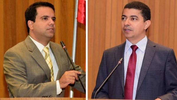 Deputados Bira e Edilázio trocam farpas e quase chegam às vias de fato na sessão da Assembleia Legislativa.