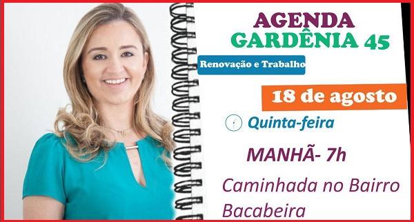 CANDIDATA GARDÊNIA SABÓIA DE HUMBERTO DE CAMPOS.