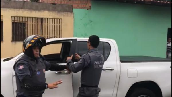 Comandante do BPRV é exonerado após polemica de abordagem em um vereador de São Luís.