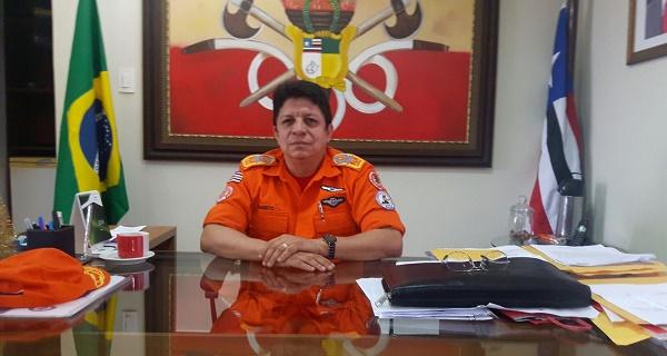 CEL BM CÉLIO ROBERTO COMANDANTE DO BOMBEIRO MILITAR DO MARANHÃO.