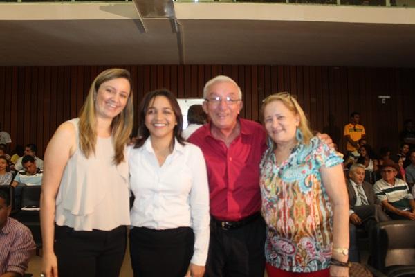 VEREADORA GARDÊNIA, DEPUTADA ELIZIANE, Dr. CLÉSIO MUNIZ E DONA NEIDE SABÓIA.