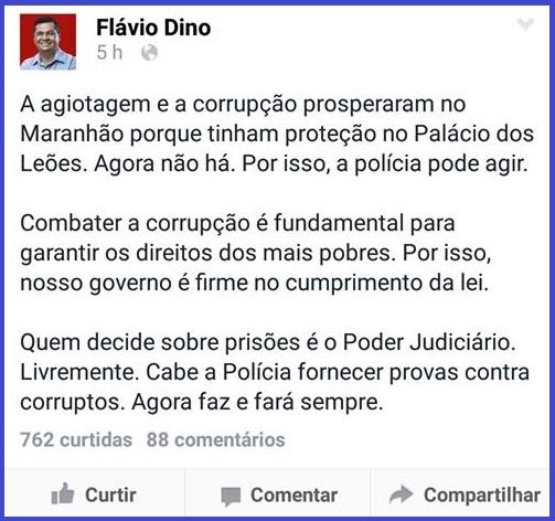 COMENTÁRIOS DE FLÁVIO DINO.
