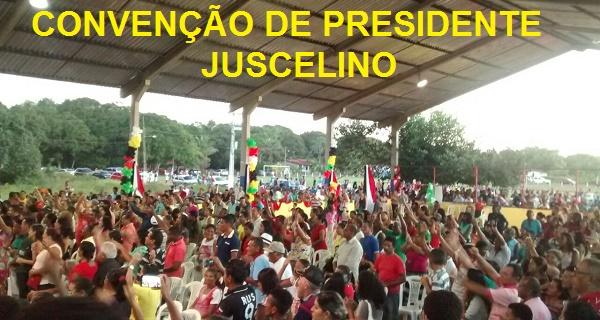 CONVENÇÃO DE PRESIDENTE JUSCELINO.