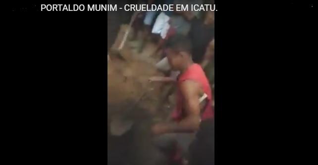 CRUELDADE: Filho é suspeito de matar e enterrar o pai no quintal da casa na cidade de Icatu.