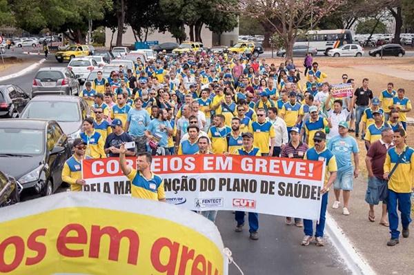 Funcionários dos Correios entram em greve a partir desta segunda-feira (12).