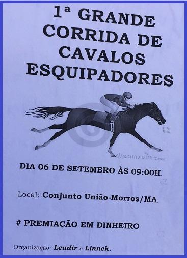 CORRIDA DE CAVALOS.