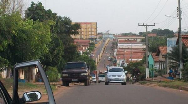 Centro da cidade de Formosa da Serra Negra-MA.
