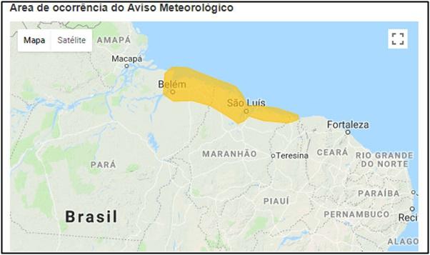 Cidades da região do Munim e Lençóis corre o Risco de tempestades no Maranhão.