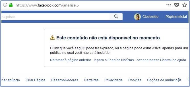 """Juíza de Coroatá exclui conta do Facebook após descoberta de que é da """"casa de Sarney""""."""