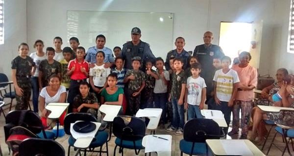 Coronel Pereira conheceu, ainda, a Brigada Mirim PJBPM.