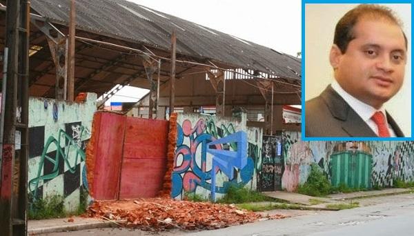 Demolição do ginásio Costa Rodrigues custou R$ 5 milhões