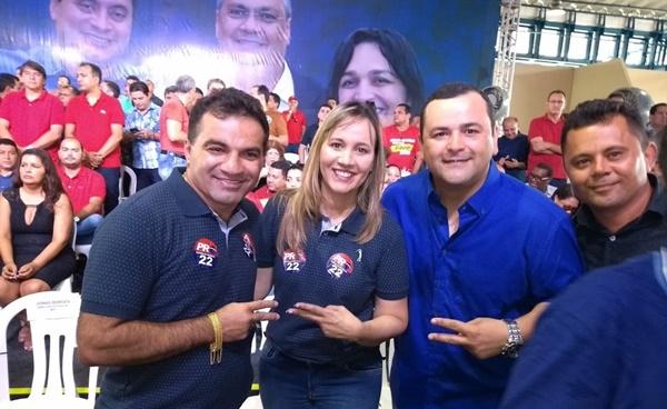 Deputado Josimar Maranhãozinho realiza convenção do seu partido PR.