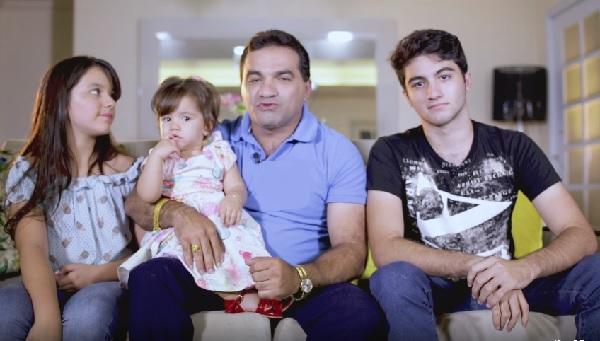 """Deputado Josimar de Maranhãozinho emite mensagem do """"Dia dos Pais""""."""