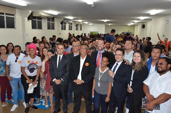 Flávio Dino discutiu acesso a direitos na segunda noite do Diálogo com Candidatos.