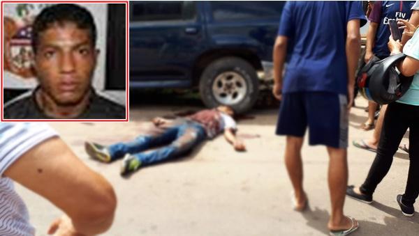 Assaltante é morto a tiros no Jardim São Cristóvão I, em São Luís.