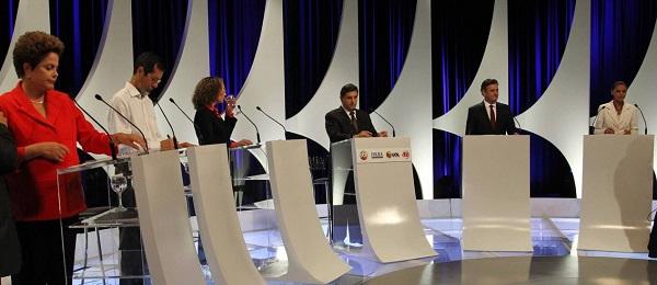 CONFRONTO ENTRE DILMA E MARINA MARCA SEGUNDO DEBATE NA TV.