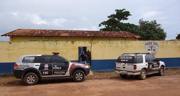 Delegacia de Polícia Civil de Governador Nunes Freire.
