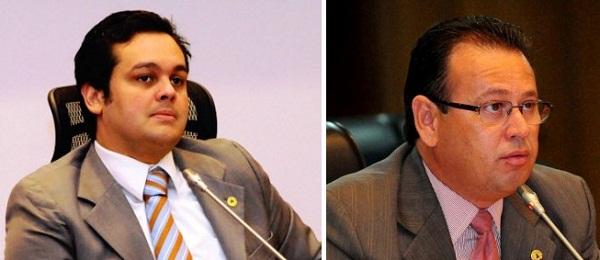 DEPUTADO CARLOS FILHO E STÊNIO RESENDE