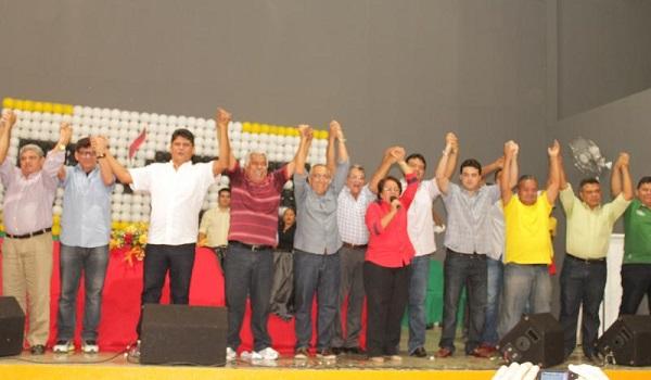 Deputado federal Gastão Vieira reuniu-se em Timon.