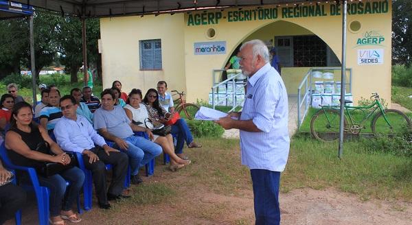 Dr. ROGÉRIO GESTOR REGIONAL DA AGERP DE ROSÁRIO.