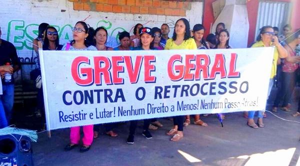Educação em Santa Rita entra em greve por 48h podendo ficar por tempo indeterminado.