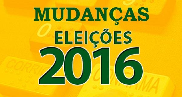 ELEIÇÕES 2016.