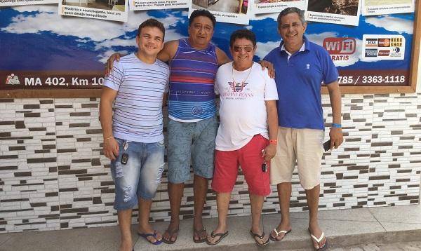 Empresário presidente do Enzo Parque visita Churrascaria do Portal e estuda região do Munim para fazer um novo empreendimento.