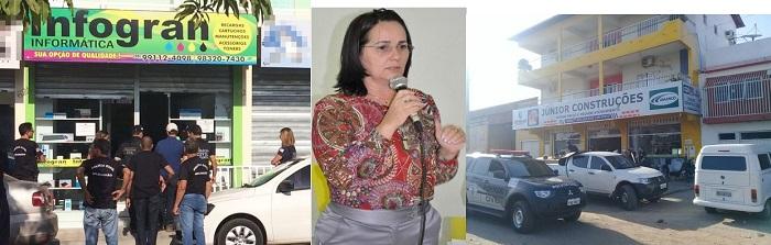 CHEIRO DE CADEIA: Em Chapadinha, Polícia Civil faz buscas em endereços ligados à ex-prefeita Belezinha.