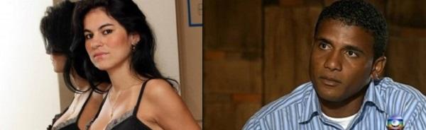 Eliza Samudio. E Jorge Luis, primo do goleiro Bruno.