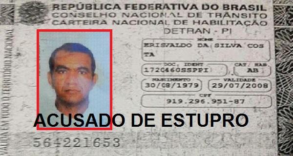 Erisvaldo da Silva Costa, de 37 anos, ex-presidiário.