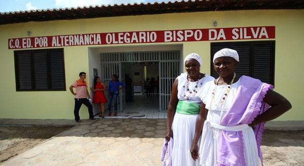 Governo entrega escolas quilombolas totalmente reconstruídas em Codó e Itapecuru.