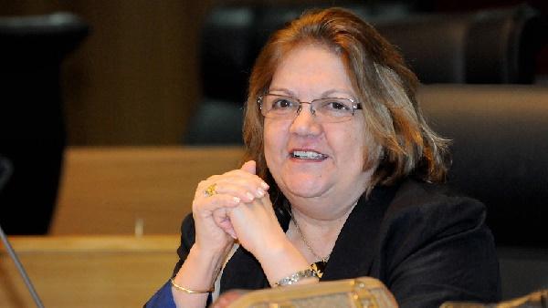 Ex-deputada Cleide Coutinho.