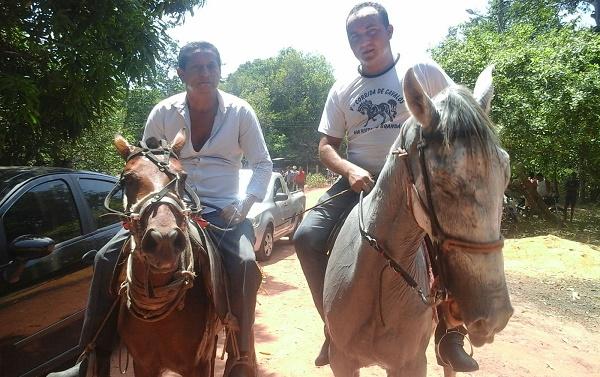 Ex.Vereador Adão e o vereador ze Carlos.