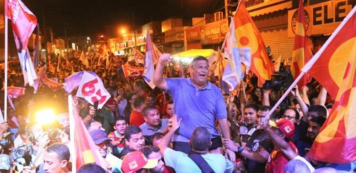 Pesquisa Ibope no Maranhão aponta vitória de Flávio Dino, 49%; Roseana Sarney, 32%.