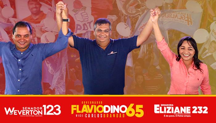 Últimas pesquisas Pesquisas Econométrica e Exata confirmam vitória de Flávio Dino e seus senadores no 1º turno.